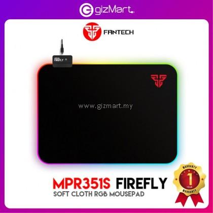Fantech MPR351s Firefly Soft Cloth RGB Mousepad (14 Spectrum Mode)
