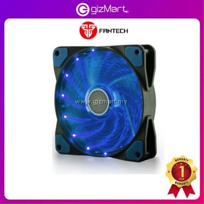 FANTECH FC-121 Turbine RGB Gaming PC Casing Fan 12cm (Light Blue)