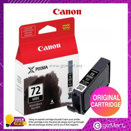 (New Sealed Expired) Canon Ink Cartridge PGI-72 Matte Black