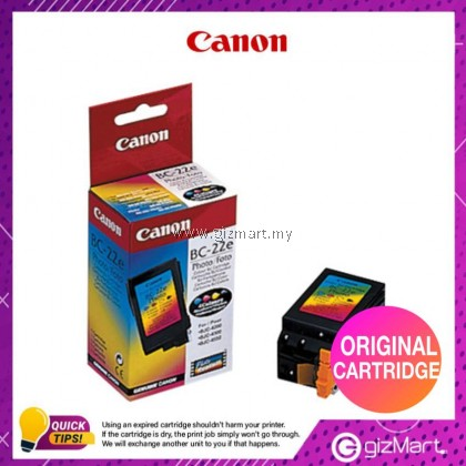 (New Sealed Cartridge) Canon Ink Cartridge BC-22E Photo Color BJ Cartridge