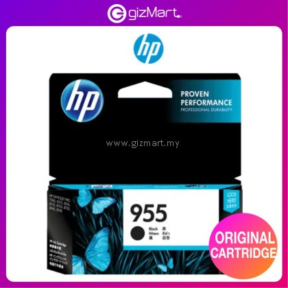 HP Ink Cartridge HP 955 Black Original Ink Cartridge (L0S60AA)