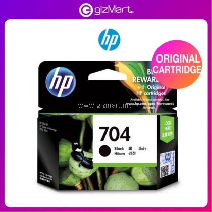 HP Ink Cartridge 704 Black ( CN692AA ) for HP Printer 2010/2060/K010/K110