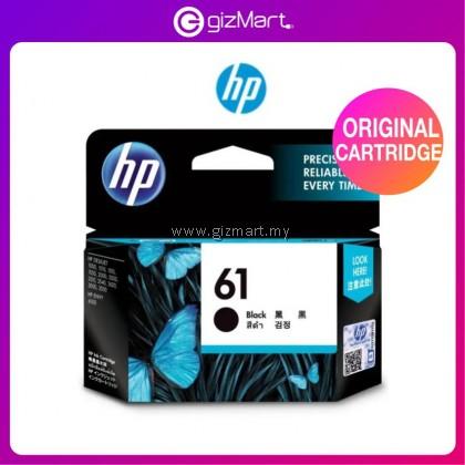 HP 61 Original Ink Cartridge (CH561WA) - Black