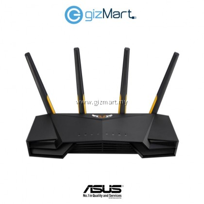 ASUS TUF Gaming AX3000 / TUF-AX3000 / TUF AX3000 Dual Band WiFi 6 (802.11ax) Gaming Router support Unifi and Maxis TIME