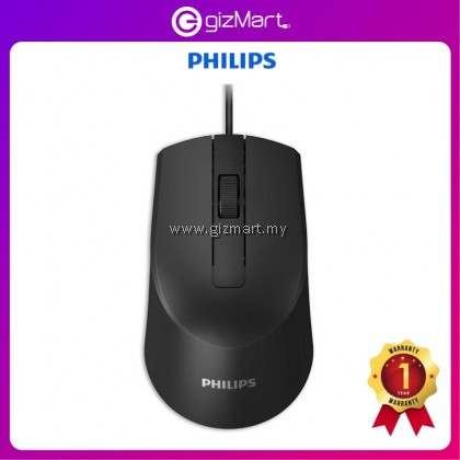 Philips M104 SPK7104 Wired USB Mouse