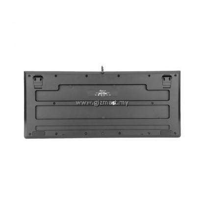 XTRIKE ME KB-508 Rainbow RGB Backlit LED Membrane 114 Keys Wired Gaming Keyboard