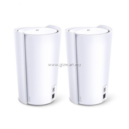 TP-LINK Deco X90 (2-pack) AX6600 Tri Band Whole Home Mesh Wi-Fi 6 System