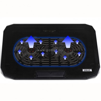 Ice Coorel N106 Laptop Cooler Super Mute Dual Big Fans Cooling Pads For 12 - 15.6 inch Laptop