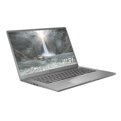 """MSI Prestige 15 A11SB-449MY 15.6"""" Laptop/ Notebook (i5-1135G7, 8GB Ram, 512GB SSD, NV MX450, W10, 15.6"""" FHD, 60Hz) - Urban Silver + Gift"""