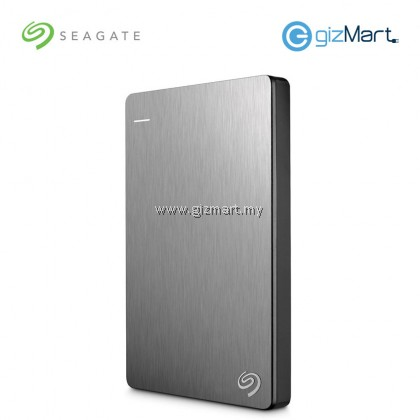 Seagate Backup Plus Slim 1TB Portable Drive (STDR1000301) (Silver)