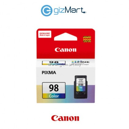 Canon CL-98 Color Genuine Ink Cartridge For E500/600/610/510