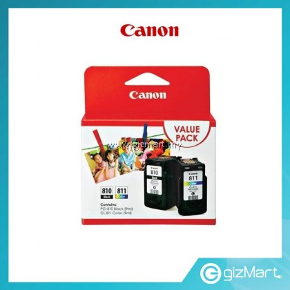 CANON VALUE PACK PG-810 + CL-811 INK CARTRIDGE