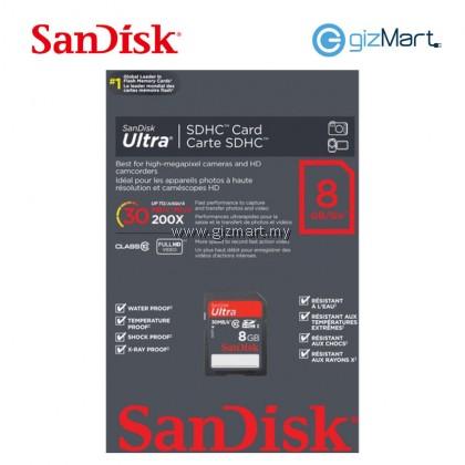 SANDISK ULTRA SDHC CARD 8GB CLASS 10
