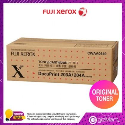(New Sealed Expired) Original Fuji Xerox DocuPrint 203A/204A CWAA0649 Toner Cartridge