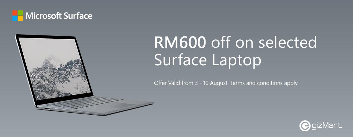 Surface Laptop Aug
