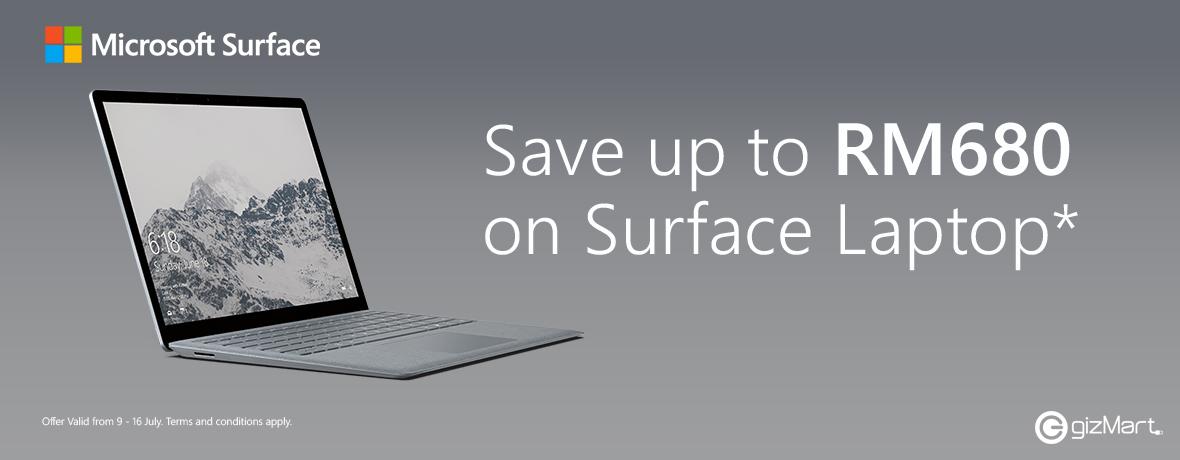 Surface Laptop July 9