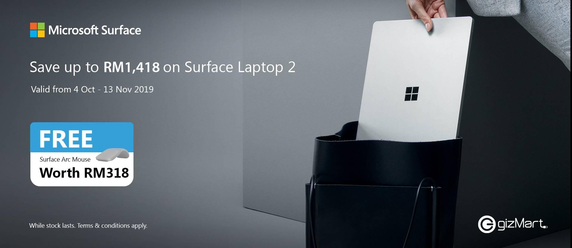 Surface Laptop 4 Oct - 13 Nov