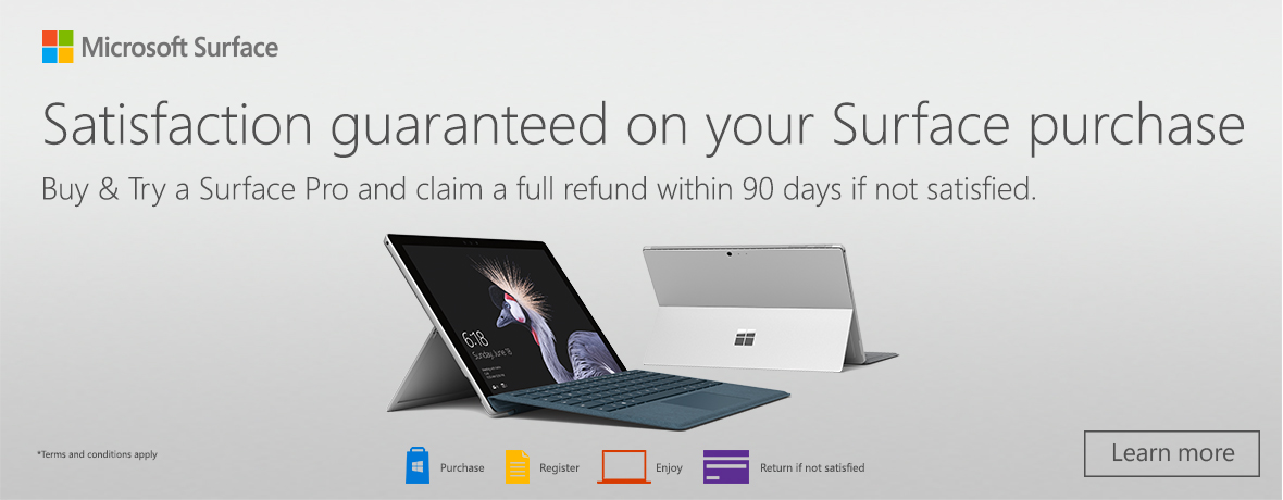Surface Buy and Try