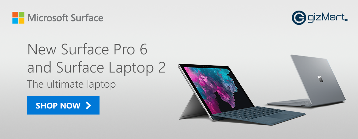 Surface Pro 6 & Laptop 2