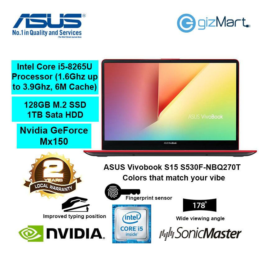 ASUS Vivobook S15 S530F-NBQ270T 15 6