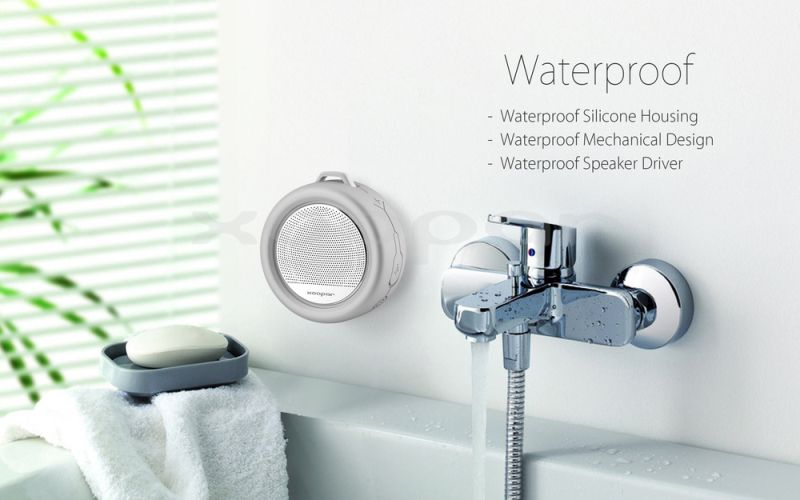 Badkamer Speaker Bluetooth : Xoopar splash waterproof bluetooth speaker gizmart.my gadgets